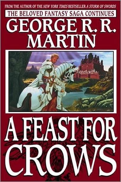 Myndaniðurstaða fyrir feast for crows original cover